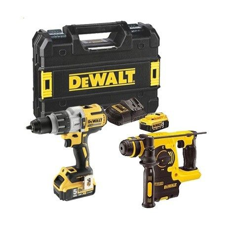 SET HERR ELECTRIC. DEWALT DCD996P2+DCH253N 18V CPROF137 (Kit)